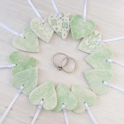 unique wedding favours green