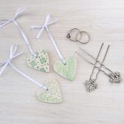 wedding favours green 1