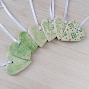 wedding favours green