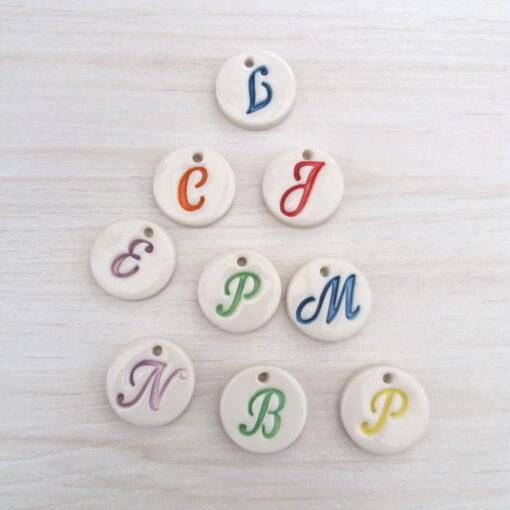 letter pendants