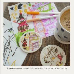 childs artwork keepsake gift